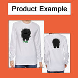 Big Nose Flat-Coated Retriever Light Colored Long Sleeve T-shirts