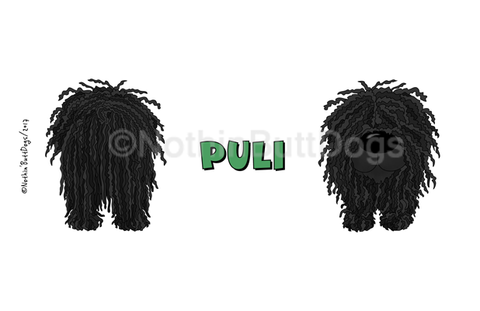 Big Nose Puli 14oz Travel Mug