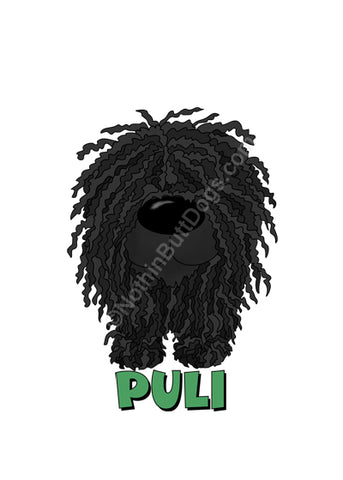 Big Nose Puli Key Chain