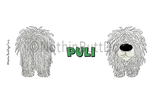 Big Nose Puli 11 oz Coffee Mug