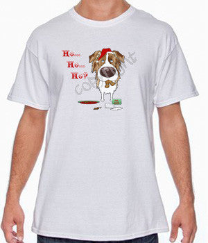 Red Merle Aussie Santa's Cookies Shirts - More Styles and Colors Available
