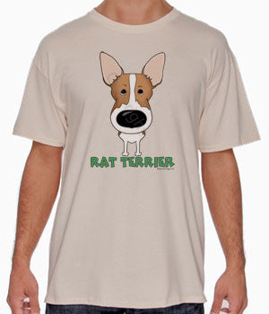 Big Nose Rat Terrier (Tan) Shirts - More Styles and Colors Available