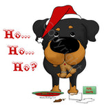 Rottweiler Santa's Cookies Shirts - More Styles and Colors Available
