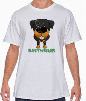 Big Nose Rottweiler Shirts - More Styles and Colors Available