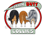 Nothin' Butt Collies Light Colored T-shirts