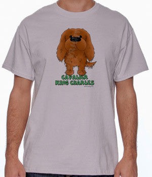 Ruby Cavalier King Charles Spaniel (Big Nose) Shirts - More Styles and Colors Available
