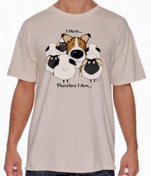 I Herd Sable Smooth Collie Shirts - More Styles and Colors Available