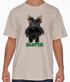Big Nose Scottish Terrier Shirts - More Styles and Colors Available