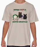 Nothin' Butt A Scottish Terrier Christmas Tshirt