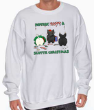 Nothin' Butt A Scottish Terrier Christmas Sweatshirt