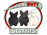Nothin' Butt Scotties Dark Colored T-shirts