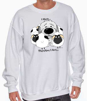 i herd sheepdog sweatshirt