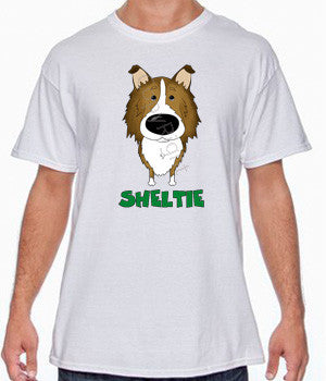Big Nose Sheltie Shirts - More Styles and Colors Available
