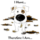 I Hunt Short Haired Jack Russell Terrier Shirts - More Styles and Colors Available