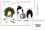Nothin' Butt A Springer Spaniel Christmas Greeting Cards