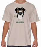 Big Nose Tri Color Aussie Natural T-shirt
