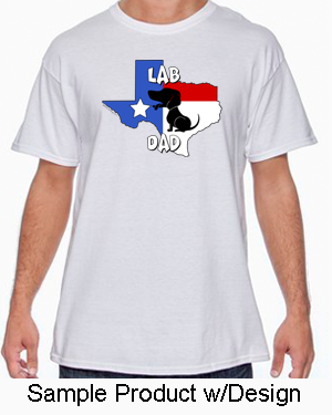 Texas Mom Tshirt White (5 Breeds Available)