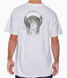 Sheepdog Butt White T-shirt