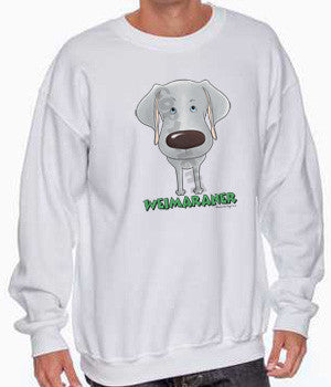 Big Nose Weimaraner Shirts - More Styles and Colors Available