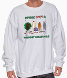 Nothin' Butt A Whippet Christmas Sweatshirt