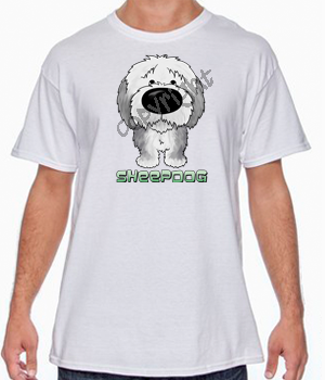 Big Nose Sheepdog Tshirts - More Colors Available