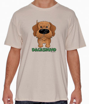 Wire Haired Dachshund (Big Nose) Shirts - More Styles and Colors Available