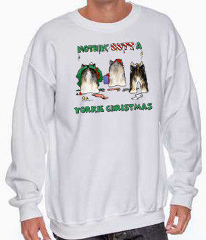 Nothin' Butt A Yorkie Christmas Shirts - More Styles and Colors Available