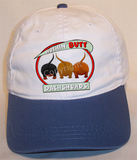 Dachshund Butt Two Tone Cotton Cap