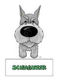 Dog Magnet (Big Nose) - (40+ Dog Breeds Available)