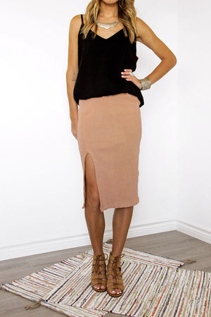 Sedona Midi Pencil Skirt - Sololu