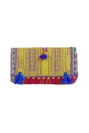 Sona Bohemian Banjara Vintage Shoulder Bag as Clutch - Sololu