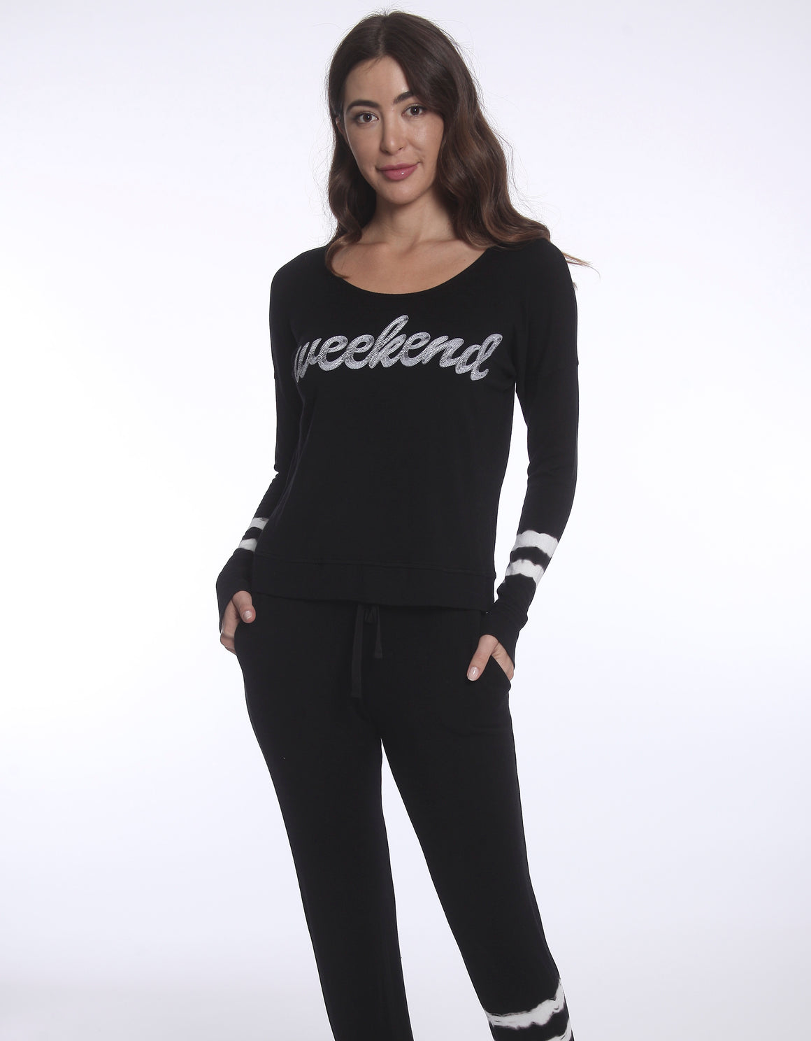 Cursive Weekend Sweatshirt
