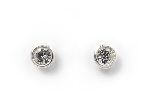 Birthstone Stud Earrings - April