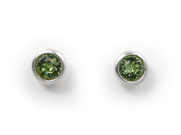 Birthstone Stud Earrings - August
