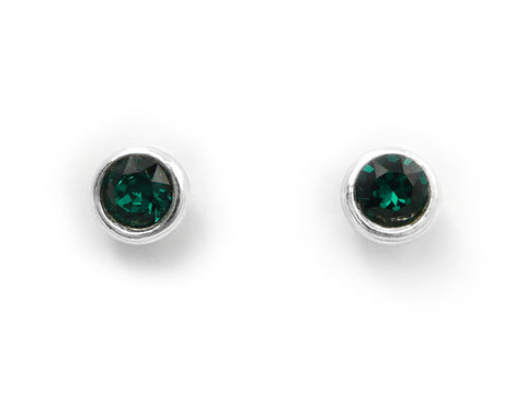 Birthstone Stud Earrings - May