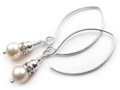 Freshwater Pearl Earrings - Catherine