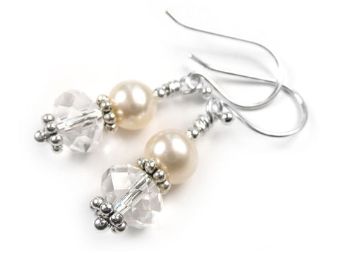 Freshwater Pearl Earrings - Charlotte