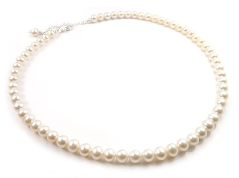 Freshwater Pearl Necklace - Jane
