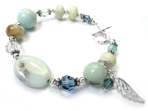 Gemstone Bracelet - Amazon Jasper