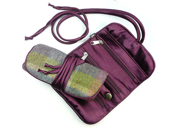 Jewellery Roll - Thistle Tweed