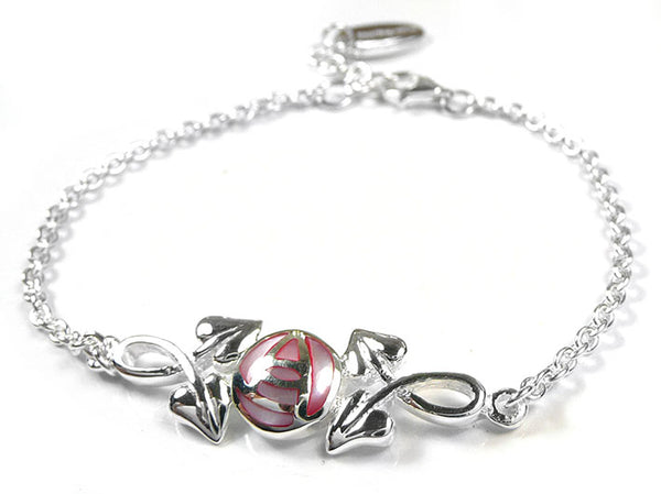 Silver Bracelet - Mackintosh Rose