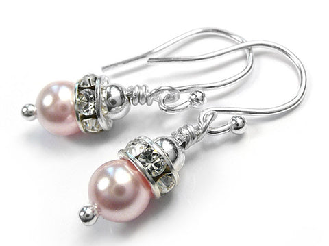 Silver Earrings - Annabel