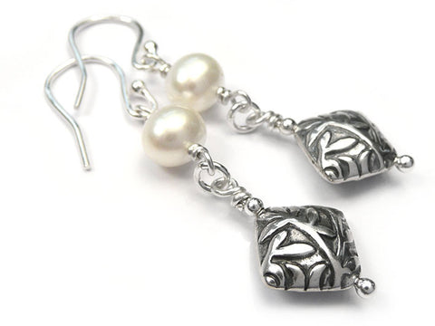 Silver Earrings - Artisan