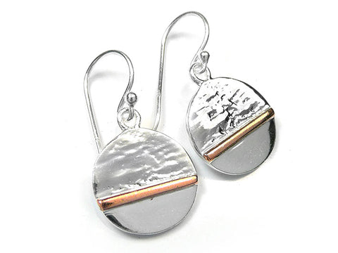 Silver Earrings - Horizon