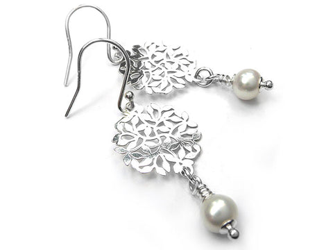 Freshwater Pearl Earrings - Secret Garden