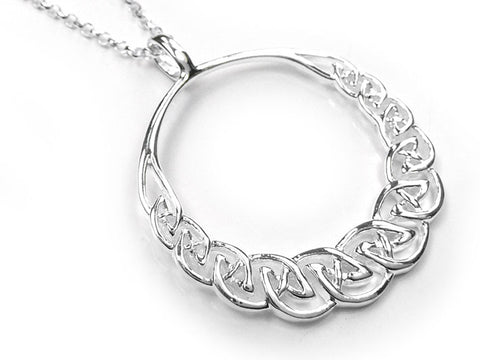 Silver Pendant - Celtic Circle