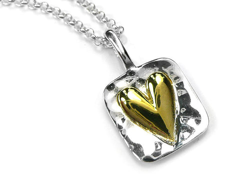 Silver Pendant - My Love