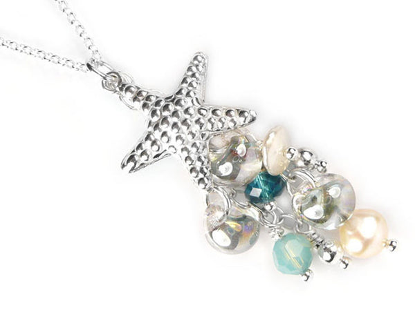 Silver Pendant - Seaside