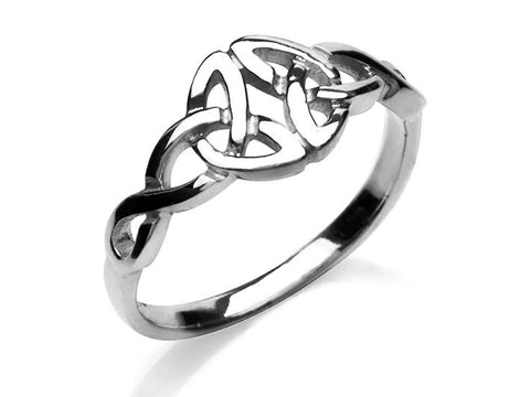 Silver Ring - Celtic Trinity Knot