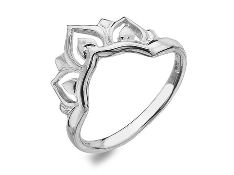 Silver Ring - Lotus Flower